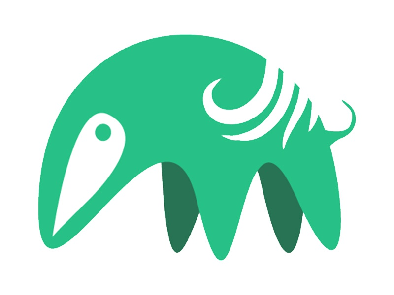 Anteater minimal logo anteater