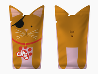 Clawds Cat Food Packaging