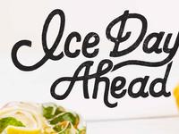 Ice Days Ahead
