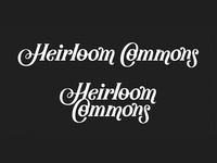 Heirloom Commons Logo