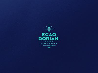 Ecaodorian Brand illustration typography type design vector branding brand logo