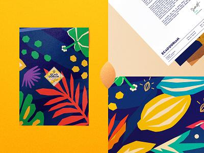 Ecaodorian Props. illustration typography type design vector branding brand logo