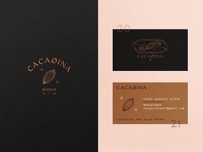 Cacaoina Props. ux ui ecuador chocolate cacao hand icon illustration typography type design vector branding brand logo