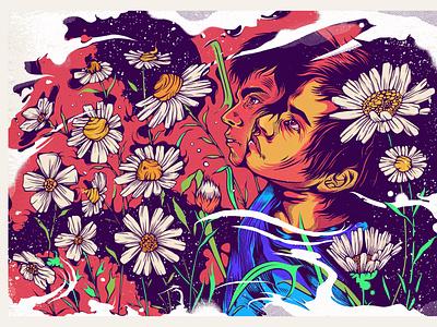 Kattou Illustration. texture adobe paint sketch drawing procreate art vector illustration
