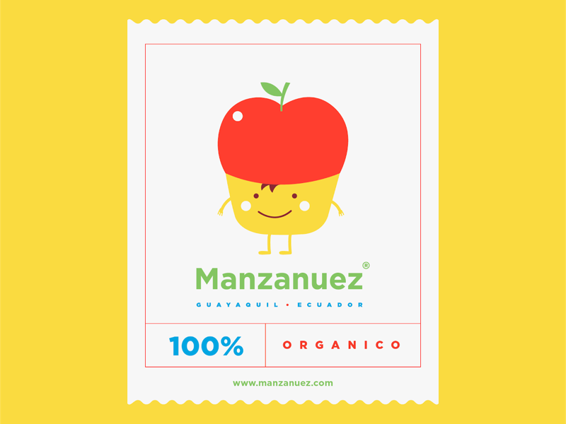 Manzanuez Brandign illustration graphic design branding logotype design icon brand logo