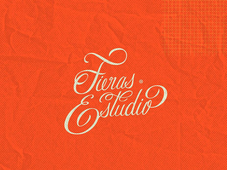 Fieras Logo lettering typography brand logo