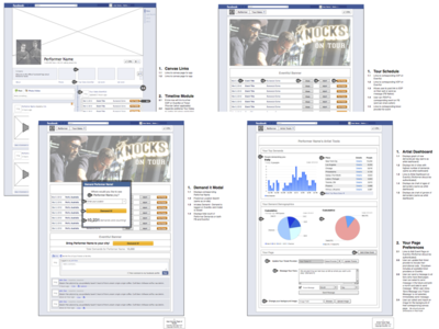 FB Timeline App