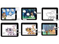 interactive cartoon concept