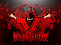 Ninja Mascot Logo