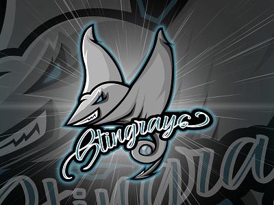 Stingray Mascot Logo