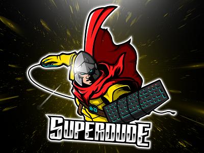 Warrior Mascot Logo