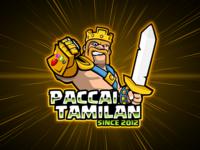 King Barbarian Mascot Logo