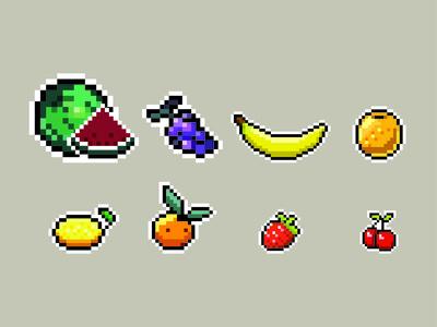Fruit 8bit