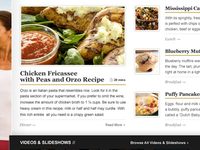 American Profile - Home Page Recipes Area home food recipes ap pga