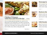 American Profile - Home Page Recipes Area