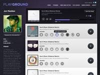 Music App - Playground