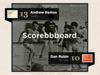 Scorebbboard is Live