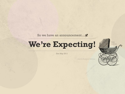So We're Expecting