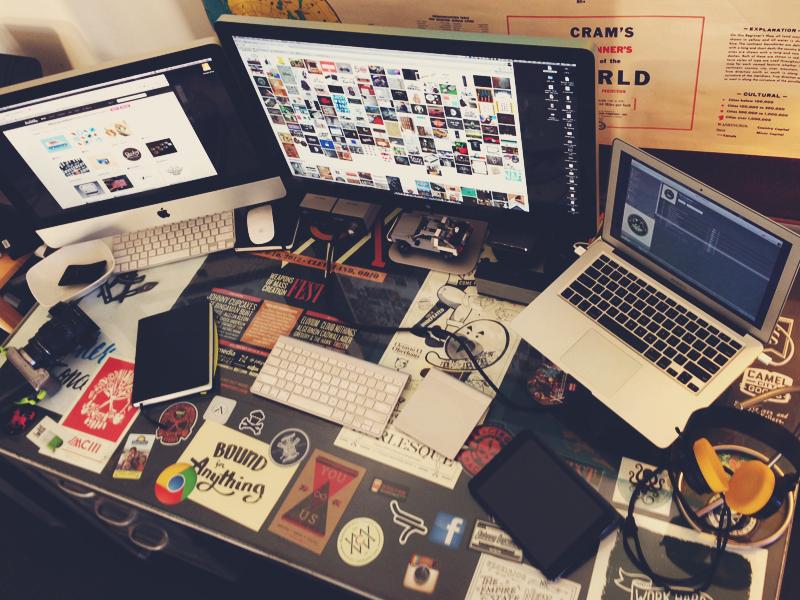 My Workspace 2013  desk workspace office