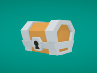Low Poly Chest