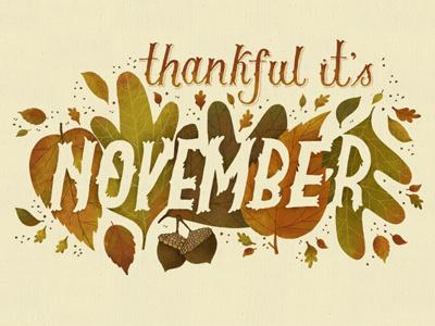 November desktop wallpaper hand lettered lettering fall november desktop leaves typography