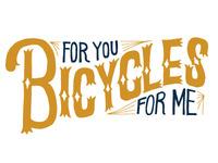 Bicycles Mural