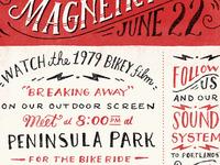 Pedalpalooza poster