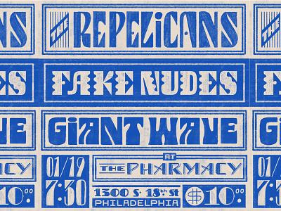 Show Flyer music poster poster flyer lettering