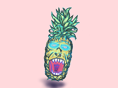 possessed pineapple