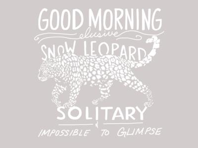 GM Snow Leopard