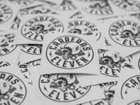 Carreras Eleven Sticker