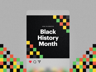 Celebrate Black History instagram marketing gem bhm black history black history month