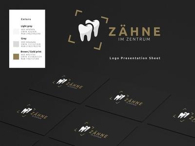 Corporate Design Approach luxury corporate business card teeth design logo corporate corporate design