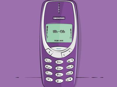 Nokia 3310 Illustration
