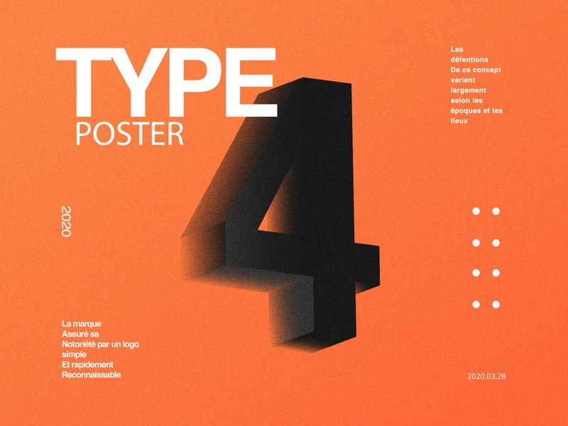 Type Poster.