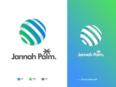 Jannah Palm-Logo Concept