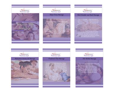 Booklet of Thai Spa