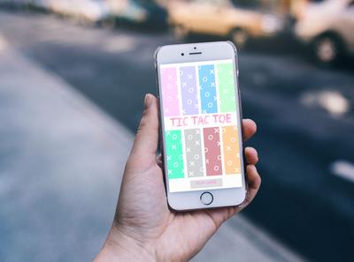 Tic Tac toe Design Application