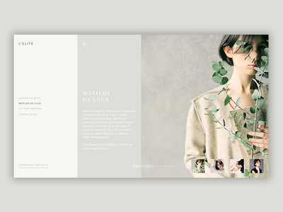 Fashion Gallery [03] web  design fashion blog fashion photoshop design web ux ui