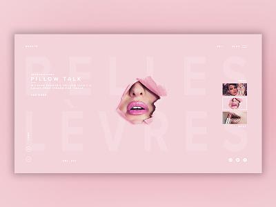 Fashion Gallery [11] web  design fashion blog fashion photoshop web ux ui design