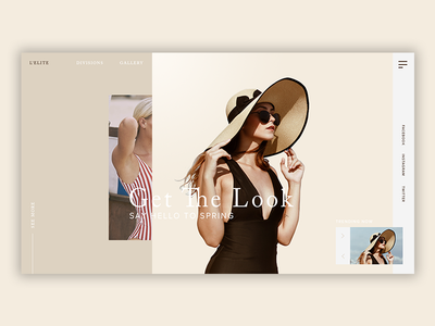 Fashion Gallery [12] web  design fashion blog fashion photoshop web ui ux design