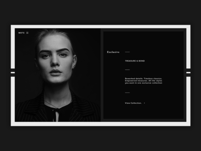 Fashion Landing Page [17] web  design fashion blog fashion photoshop web ux ui design
