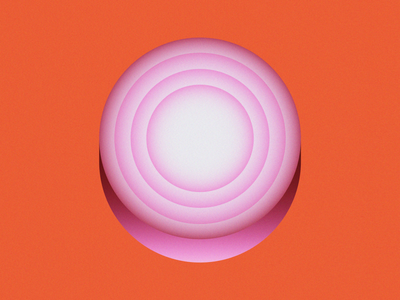 O is for Onion  • 36 Days of Type purple alphabet letter o lettering 36 days of type 36daysoftype08 36daysoftype vegetable red onion onion slice onion grain design gradient food 2d flat vector minimal illustration