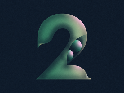 2 Peas in a Pod • 36 Days of Type alphabet idiom vegetable 2 peas in a pod peas in a pod number number 2 lettering typography 36daysoftype08 36 days of type 36daysoftype design gradient food 2d flat vector minimal illustration