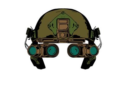 Operator Helmet illustration