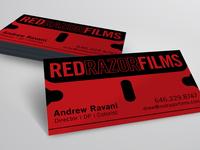 Red Razor Films Card