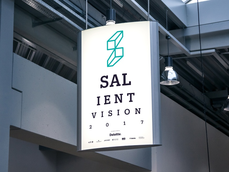 Salient Vision Event Signage financial services sign design