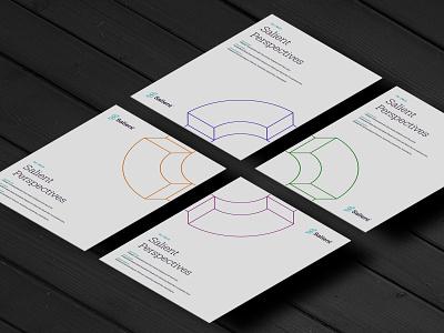 Quarterly Newsletter Cover System brand system geometric design branding illustrator design financial services