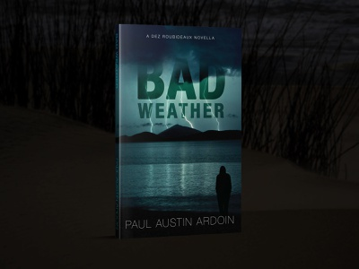 Bad Weather Book Cover typography book cover book art book covers book cover design design illustrator photoshop