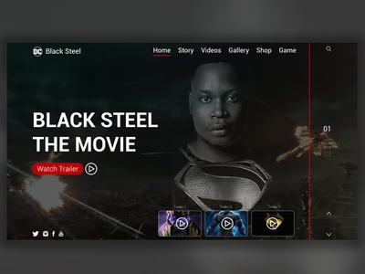 Black Steel Web web ui